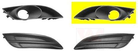 Grille de ventilation, pare-chocs - VAN WEZEL - 5405591