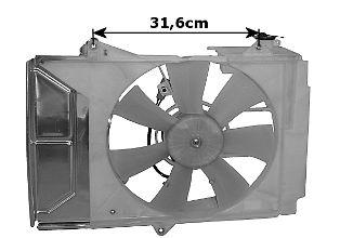 Ventilateur, refroidissement du moteur - VAN WEZEL - 5430746