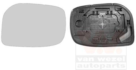 Verre de rétroviseur, rétroviseur extérieur - VAN WEZEL - 5432831