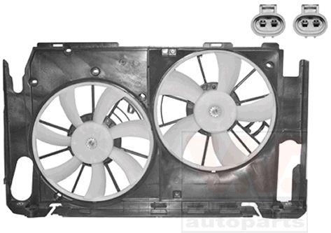 Ventilateur, refroidissement du moteur - VAN WEZEL - 5470749