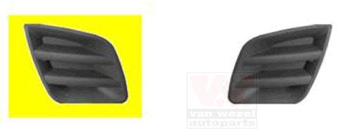 Grille de ventilation, pare-chocs - VAN WEZEL - 5471592