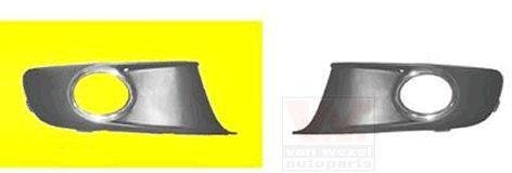 Grille de ventilation, pare-chocs - VAN WEZEL - 5735594