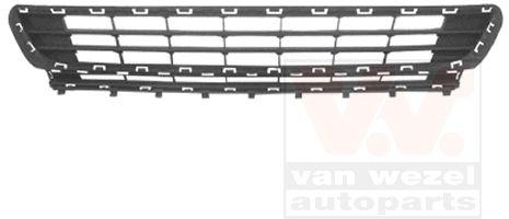 Grille de ventilation, pare-chocs - VAN WEZEL - 5766590