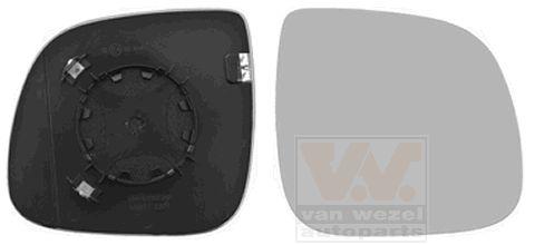 Verre de rétroviseur, rétroviseur extérieur - VAN WEZEL - 5790838