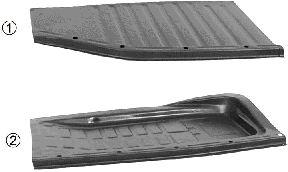 Plancher de carrosserie - VAN WEZEL - 5801.85
