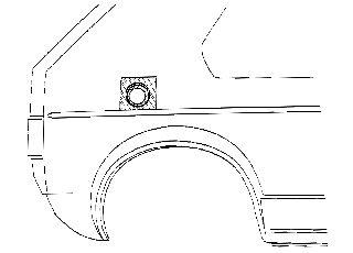 Panneau latéral - VAN WEZEL - 3734191