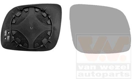 Verre de rétroviseur, rétroviseur extérieur - VAN WEZEL - 5825832