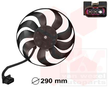 Ventilateur, refroidissement du moteur - VAN WEZEL - 5827744