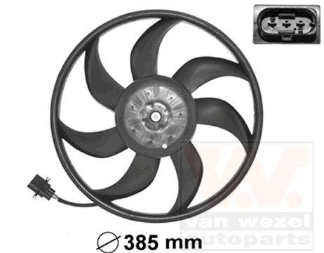 Ventilateur, refroidissement du moteur - VAN WEZEL - 5827745