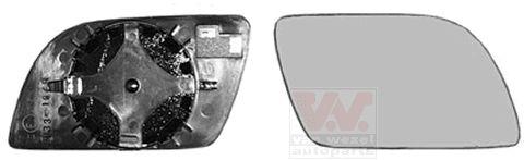 Verre de rétroviseur, rétroviseur extérieur - VAN WEZEL - 5827832