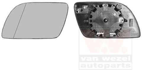 Verre de rétroviseur, rétroviseur extérieur - VAN WEZEL - 5827837
