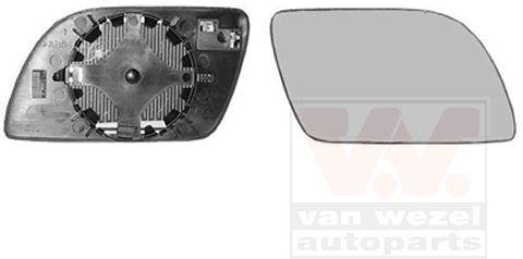 Verre de rétroviseur, rétroviseur extérieur - VAN WEZEL - 5827838