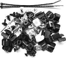 Kit de montage, choc avant - VAN WEZEL - 5828795
