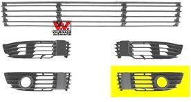 Grille de ventilation, pare-chocs - VAN WEZEL - 5837593
