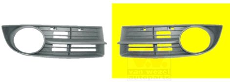 Grille de ventilation, pare-chocs - VAN WEZEL - 5856593