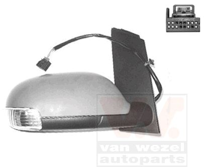 Rétroviseur extérieur - VAN WEZEL - 5856818