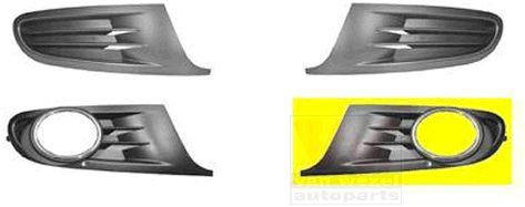 Grille de ventilation, pare-chocs - VAN WEZEL - 5863593