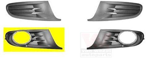 Grille de ventilation, pare-chocs - VAN WEZEL - 5863594