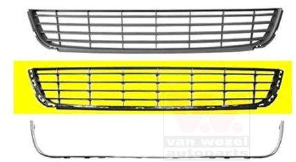 Grille de ventilation, pare-chocs - VAN WEZEL - 5863599