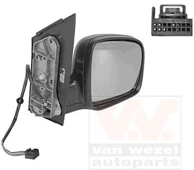 Rétroviseur extérieur - VAN WEZEL - 5867808