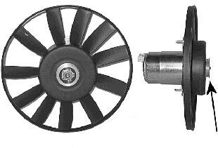Ventilateur, refroidissement du moteur - VAN WEZEL - 5880745