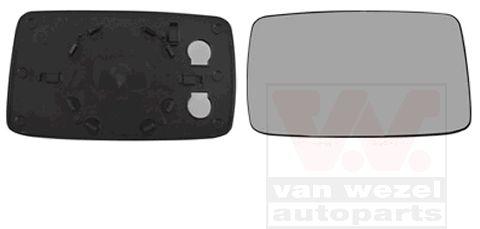 Verre de rétroviseur, rétroviseur extérieur - VAN WEZEL - 5880832