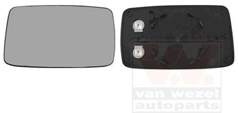 Verre de rétroviseur, rétroviseur extérieur - VWA - 88VWA5880837