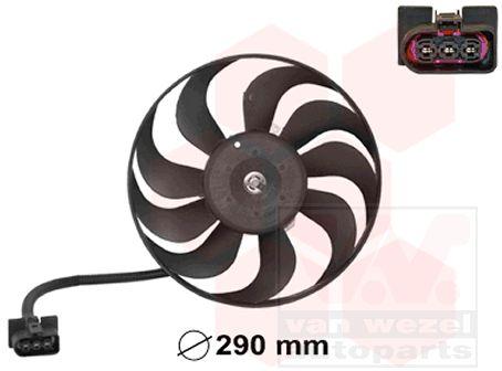 Ventilateur, refroidissement du moteur - VAN WEZEL - 5888745