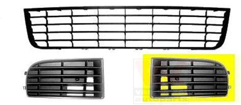 Grille de ventilation, pare-chocs - VAN WEZEL - 5894591