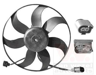 Ventilateur, refroidissement du moteur - VAN WEZEL - 5894745