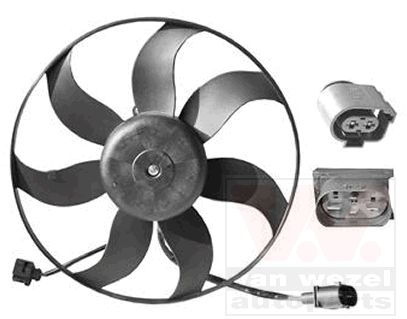 Ventilateur, refroidissement du moteur - VAN WEZEL - 5894747