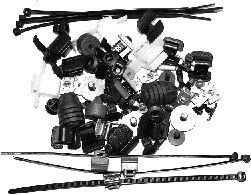 Kit de montage, choc avant - VAN WEZEL - 5894795