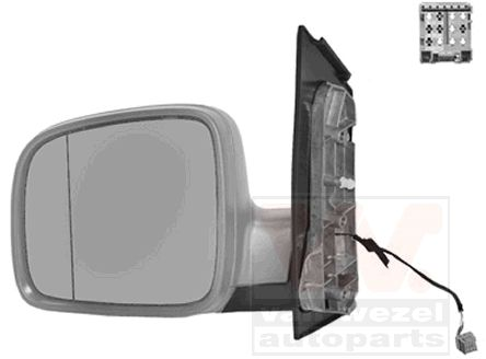 Rétroviseur extérieur - VAN WEZEL - 5896817