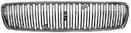 Grille de radiateur - VAN WEZEL - 5942510