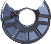 Déflecteur, disque de frein - VAN WEZEL - 5944371