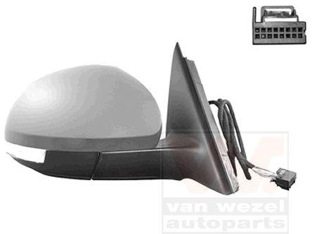 Rétroviseur extérieur - VAN WEZEL - 7606808