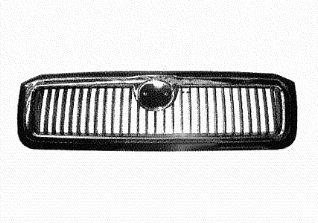 Grille de radiateur - VAN WEZEL - 7616514