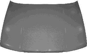 Capot-moteur - VAN WEZEL - 7620660