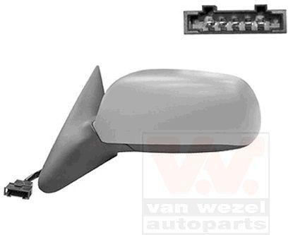 Rétroviseur extérieur - VAN WEZEL - 7620827