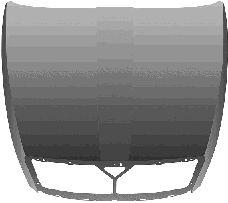 Capot-moteur - VAN WEZEL - 7622660