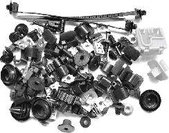 Kit de montage, choc avant - VAN WEZEL - 7622795