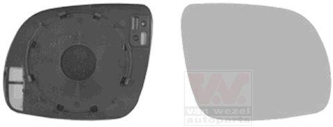 Verre de rétroviseur, rétroviseur extérieur - VWA - 88VWA7625832