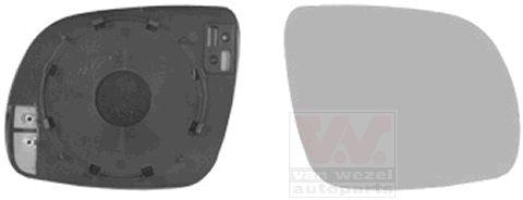 Verre de rétroviseur, rétroviseur extérieur - VWA - 88VWA7625838