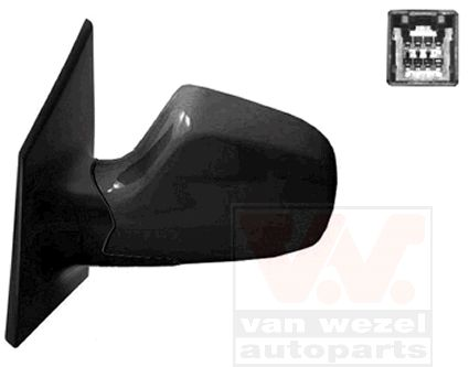Rétroviseur extérieur - VAN WEZEL - 8245805
