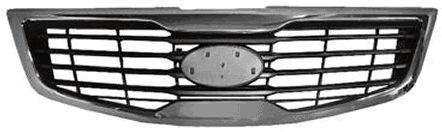 Grille de radiateur - VAN WEZEL - 8383510