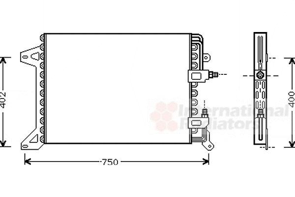 Condenseur, climatisation - VWA - 88VWA28005034