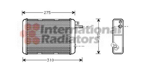 Système de chauffage - VAN WEZEL - 28006018