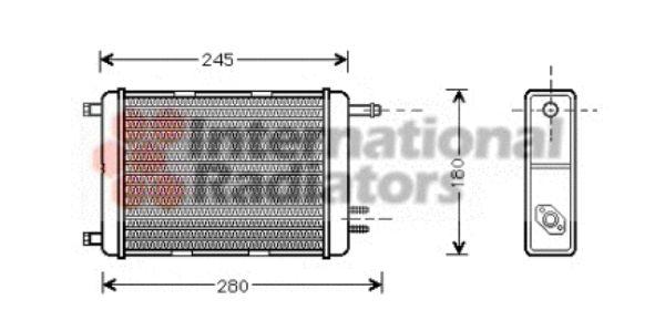 Système de chauffage - VAN WEZEL - 28006031