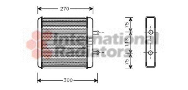 Système de chauffage - VAN WEZEL - 28006048