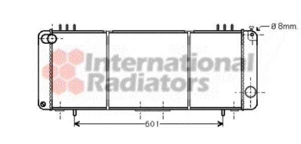 Radiateur, refroidissement du moteur - VWA - 88VWA21002016